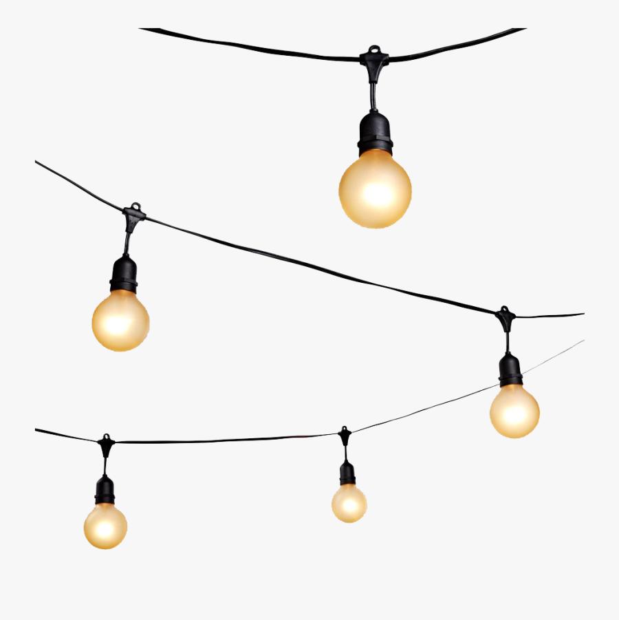 String Light Png Pic - String Light Png, Transparent Clipart