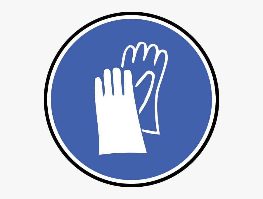 Wear Gloves Svg Clip Arts - Safety Gloves Clipart, Transparent Clipart