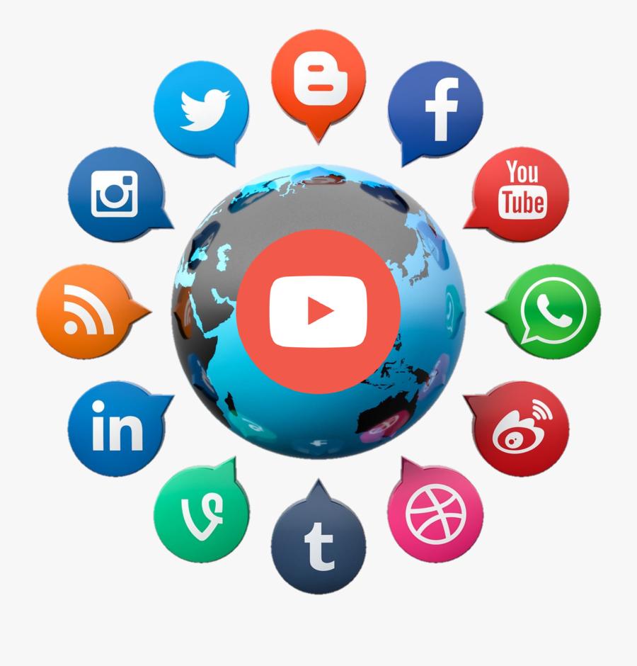 Social Media Marketing Social Networking Service - Connectivity Of Social Media, Transparent Clipart