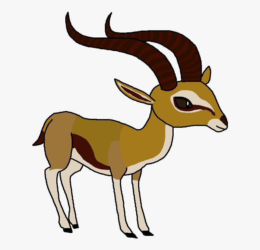 Thomson&#039 - S Gazelle - World Of Zoo Antelope, Transparent Clipart