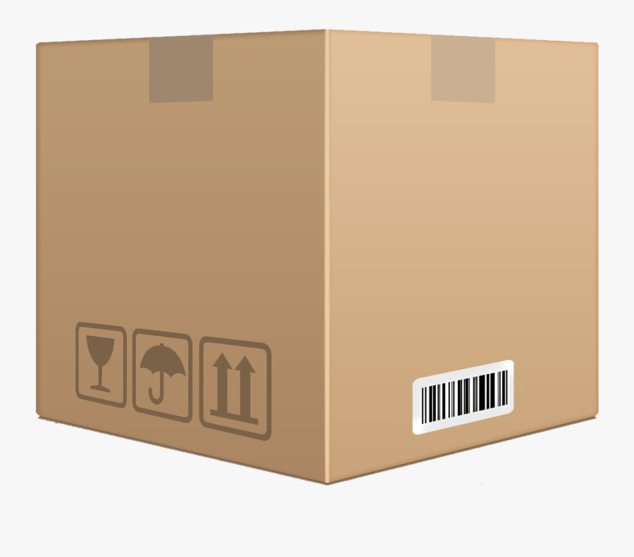 Download Cardboard Box Container Png Transparent Images - Transparent Background Cardboard Box Png, Transparent Clipart