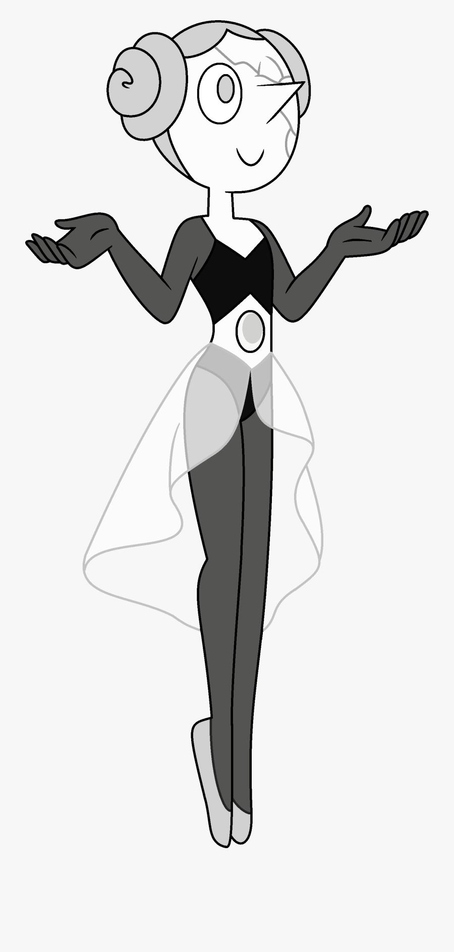 Steven Universe Fanon Wiki - White Diamond's Pearl Steven Universe, Transparent Clipart