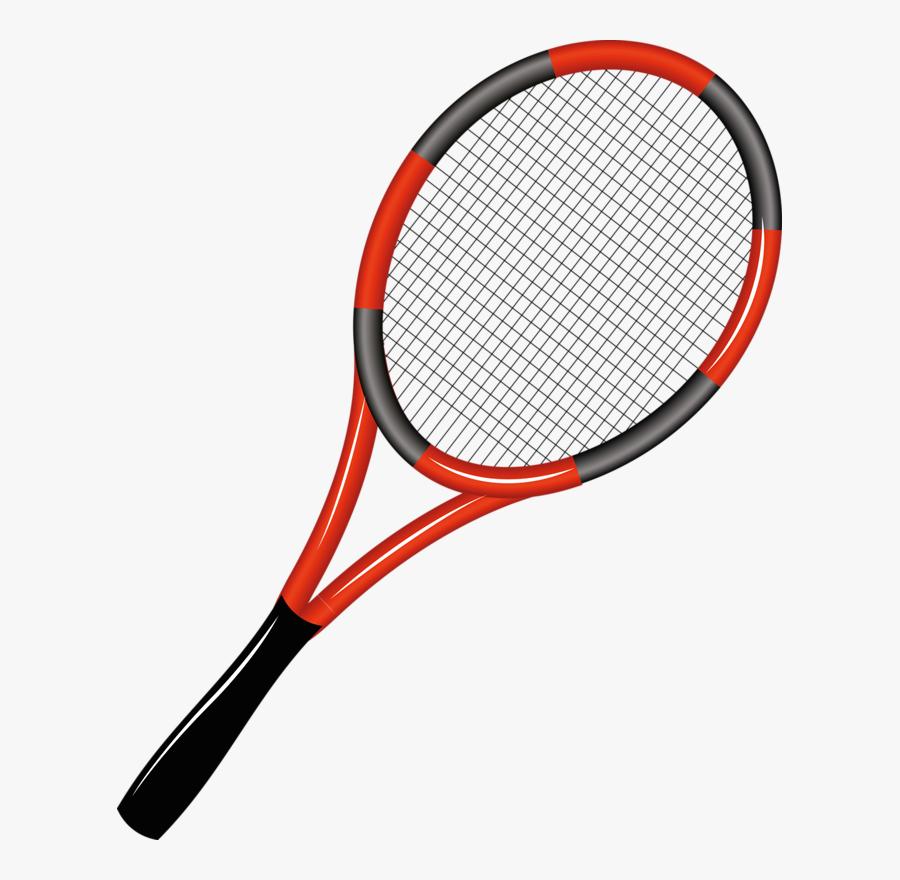 Rakieta Tenisowa Clip Art - Tennis Racket Cartoon Png, Transparent Clipart