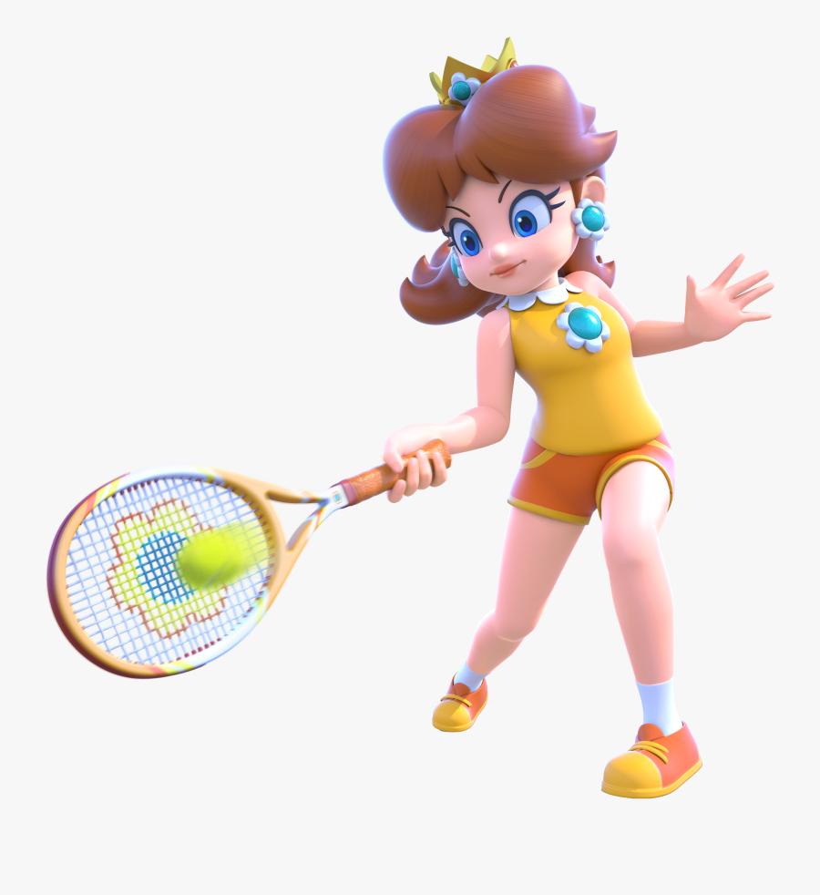 Nintendo Fanon Wiki - Super Mario Tennis Daisy, Transparent Clipart