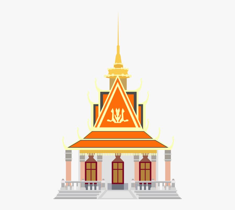 Building,facade,landmark - Pagoda Png, Transparent Clipart