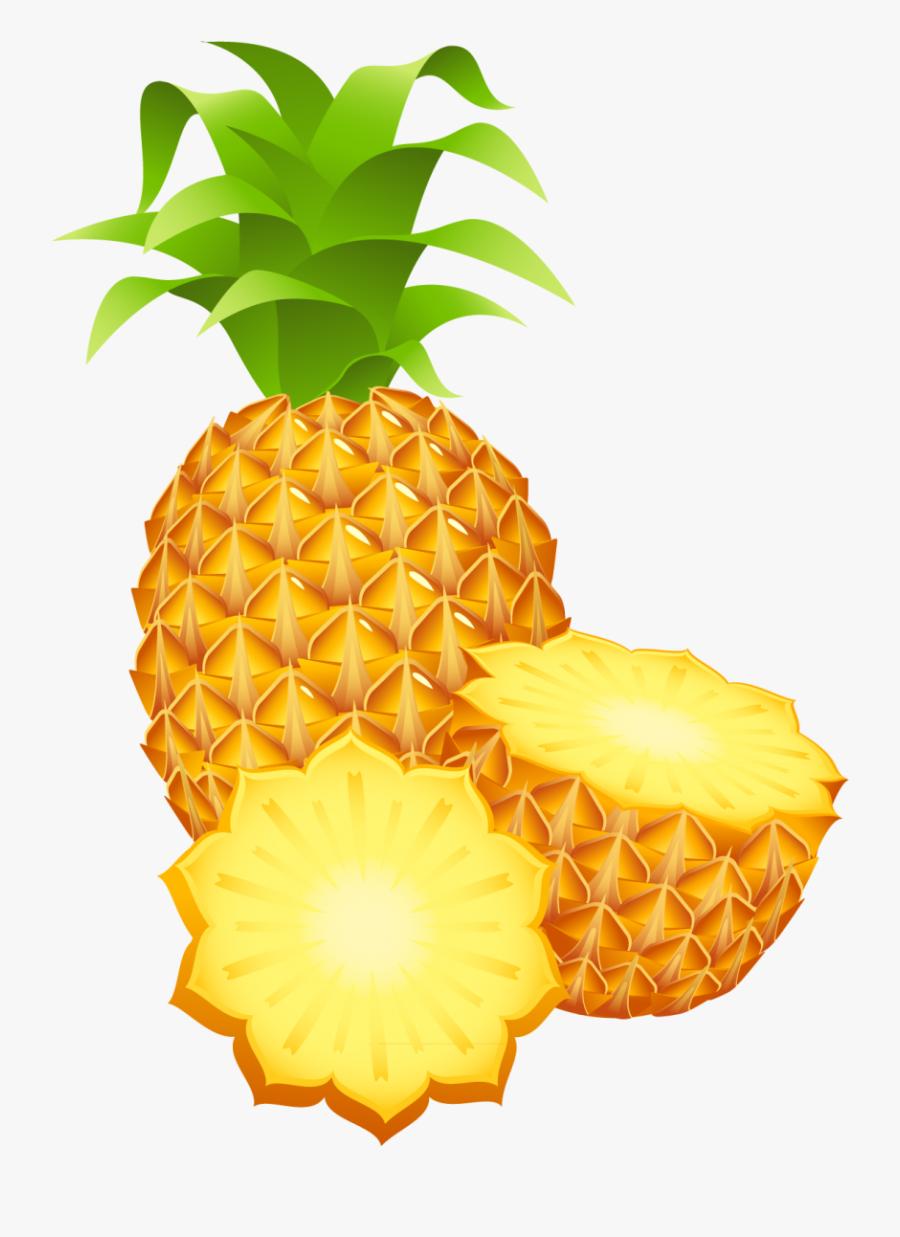 Pinapple Clipart Png Image - Clip Art Pineapple Transparent Background, Transparent Clipart