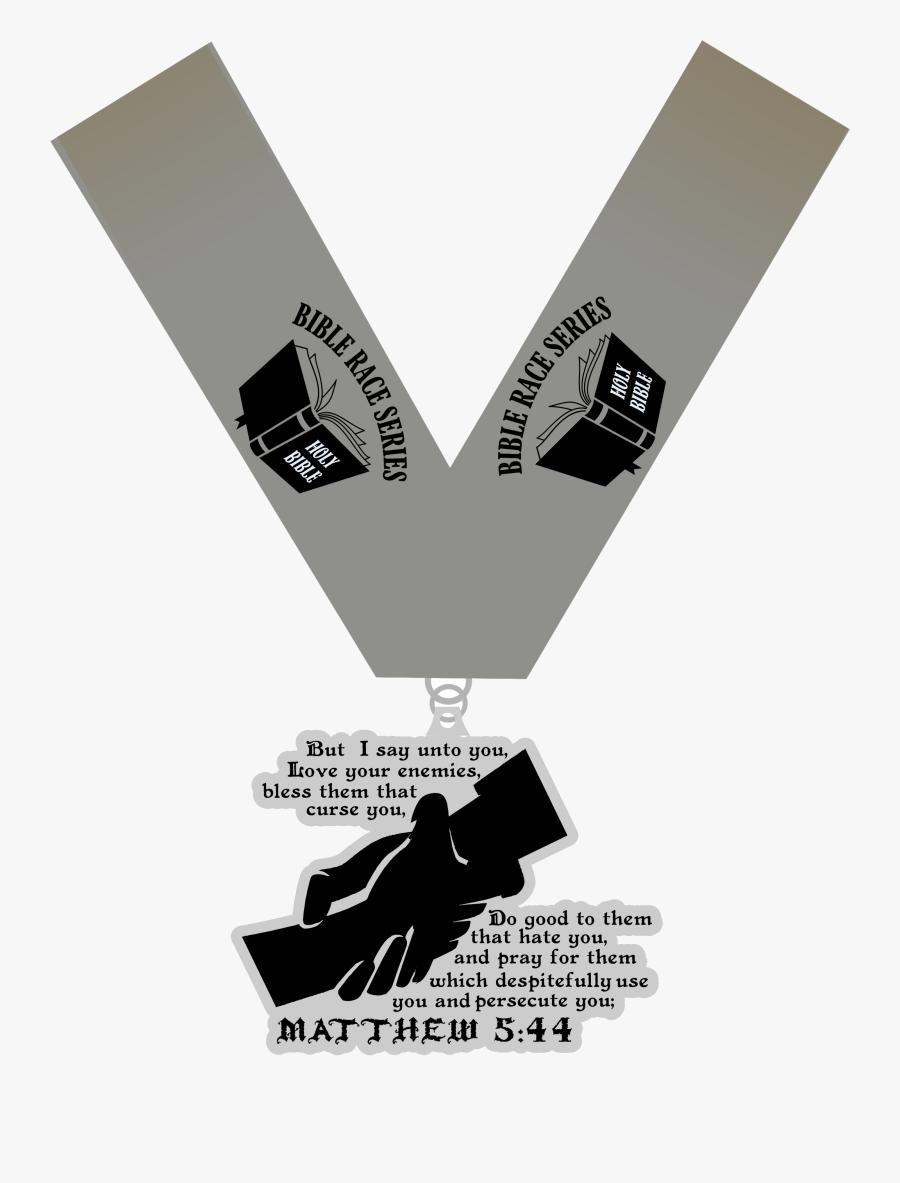 Love Your Enemies 1 Mile 5k 10k 13.1 26.2 Houston Medal, Transparent Clipart