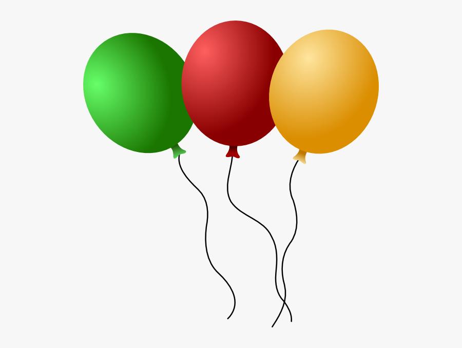 Balloons Clip Art, Transparent Clipart