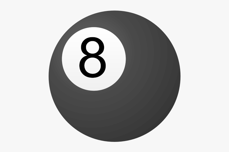 8 Ball - 8 Ball Pool Icon Png, Transparent Clipart