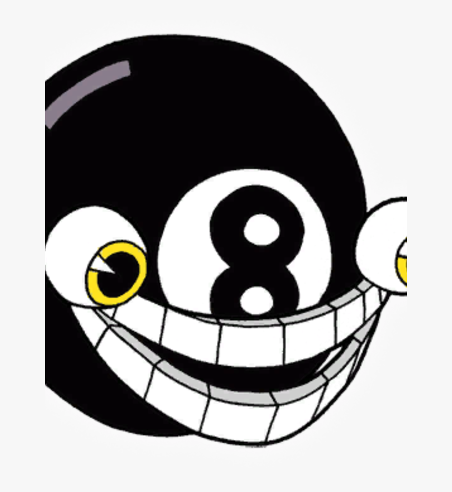 Cuphead Wiki - Cuphead 8 Ball Boss, Transparent Clipart