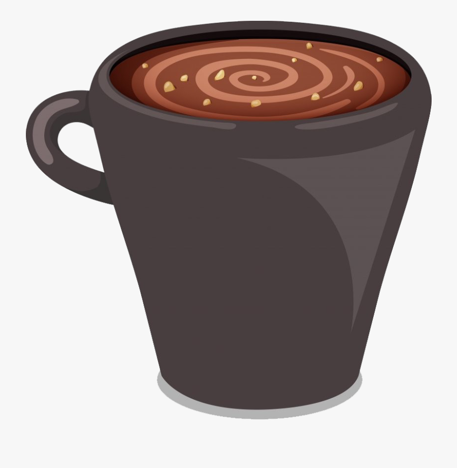 Hot Chocolate Png Picture - Transparent Hot Chocolate Cartoon Png, Transparent Clipart