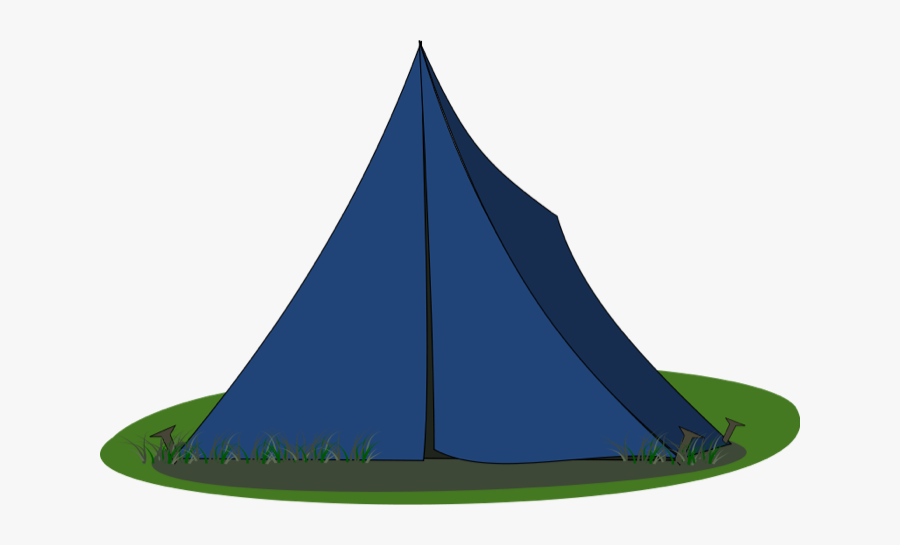 Tent Camping Clip Art - Front Of Tent Clipart, Transparent Clipart