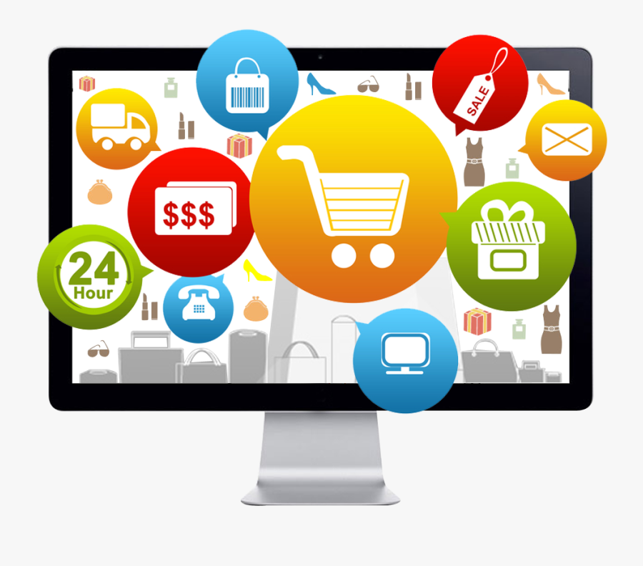 Ecommerce Free Png Image - Website Ecommerce Png, Transparent Clipart
