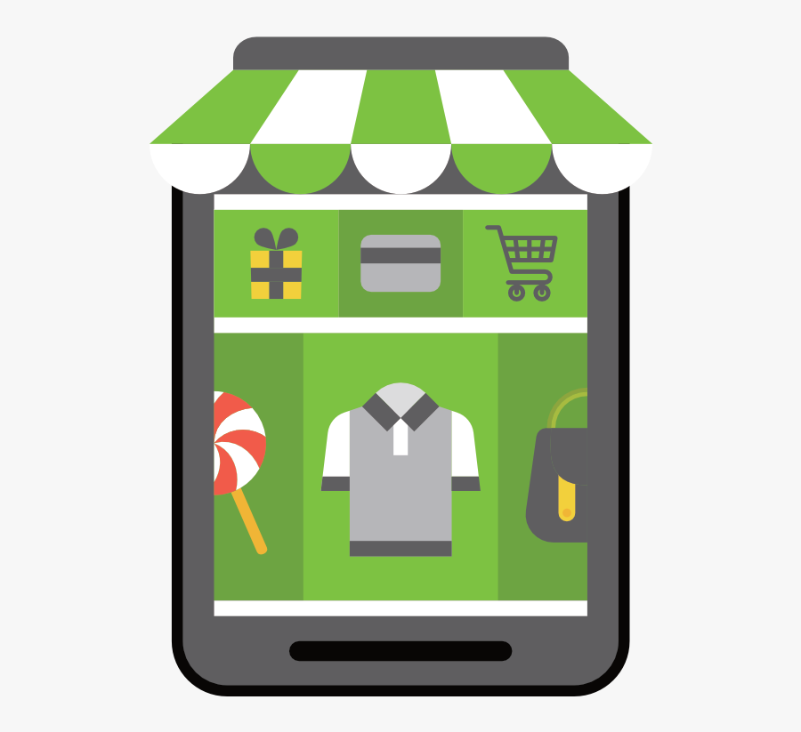 Ecommerce Website Development Virteom - Ecommerce Cart Transparent Png, Transparent Clipart