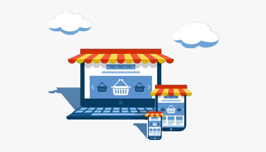 Ecommerce Marketing Company Raipur - Online Shop Png, Transparent Clipart
