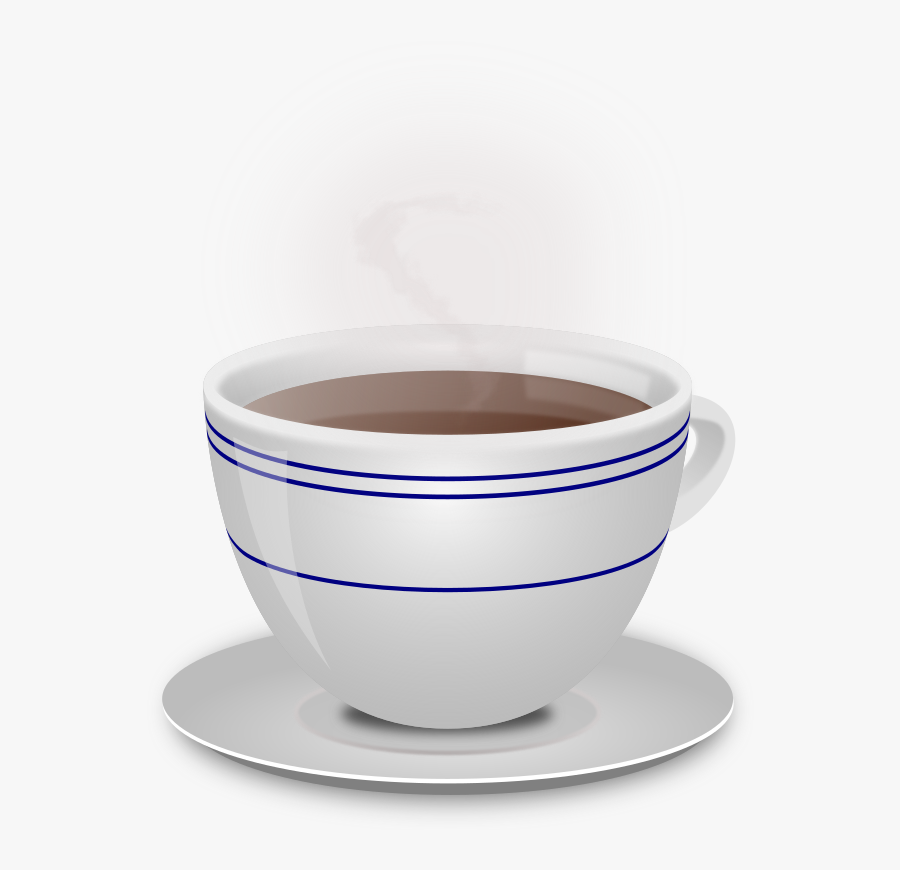 Cup Of Coffee - Hot Beverage * .png, Transparent Clipart