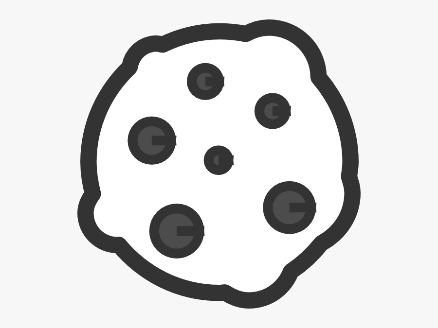 Chocolate Chip Cookie Clipart Black And White, Transparent Clipart