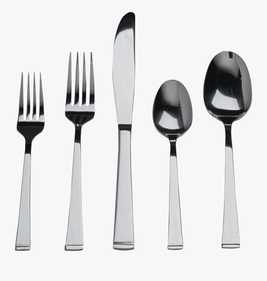 Fork Clipart Fancy - Fork Spoons Knife Png, Transparent Clipart
