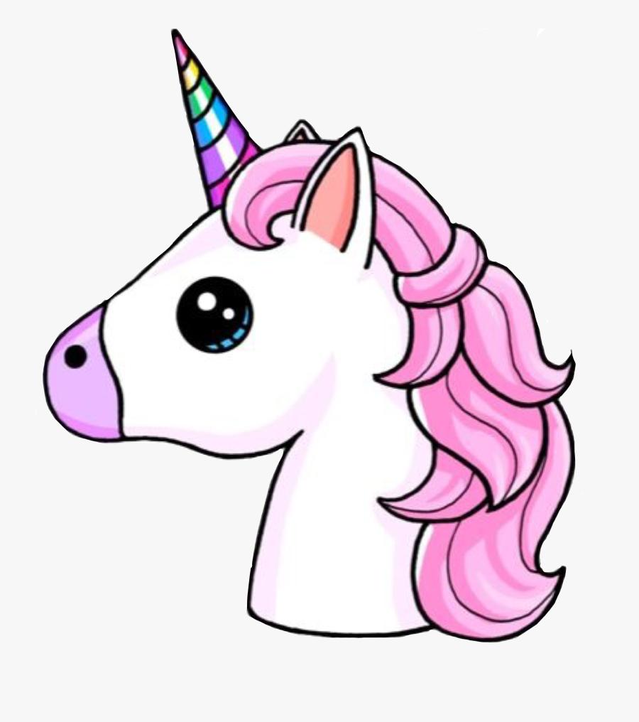 Unicorn, Emoji, Drawing, Pink, Horse Png Image With - Unicorn Emoji, Transparent Clipart