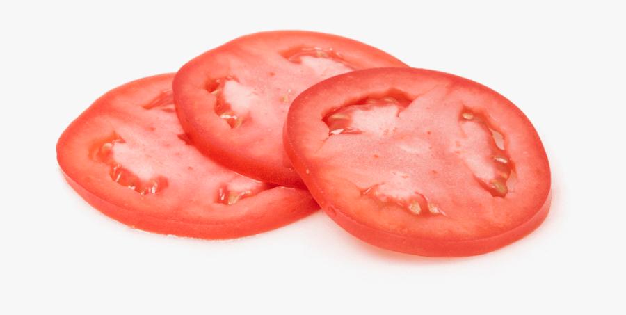 Transparent Background Tomato Slice, Transparent Clipart