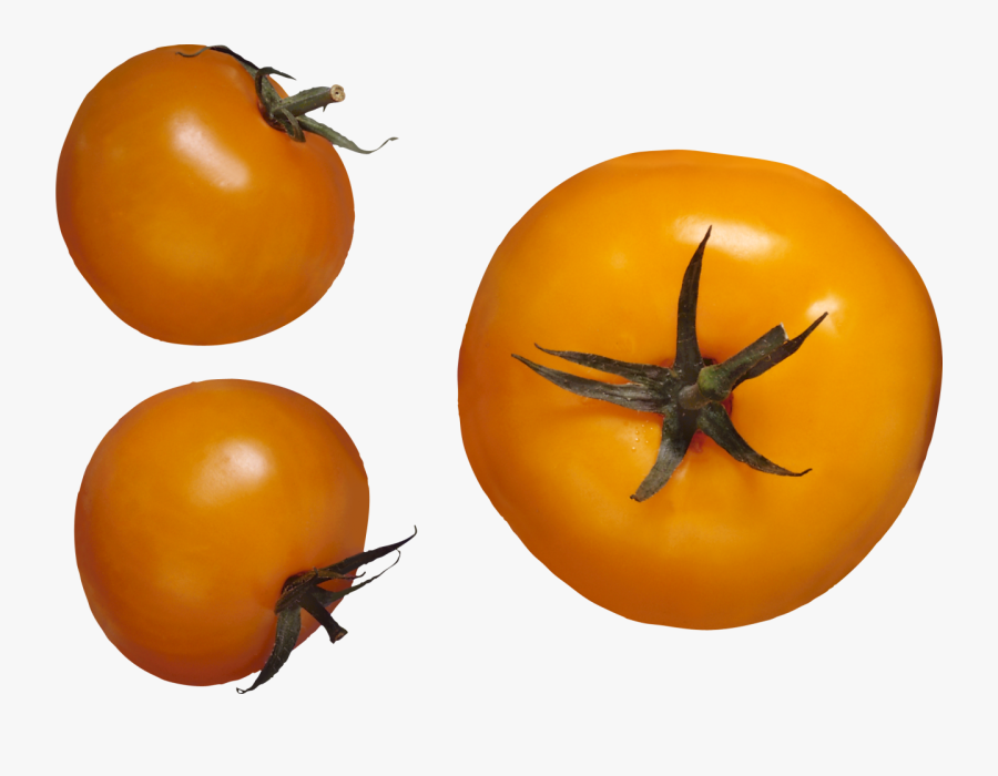 Red Tomatoes Png Image - Yellow Tomato Icon, Transparent Clipart
