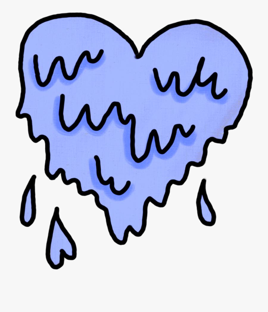 Transparent Slime Clipart - Love Sticker, Transparent Clipart