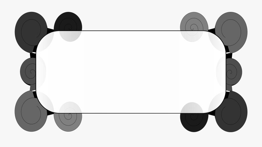 Decorative Text Box Clipart - Border Text Box Design Png, Transparent Clipart