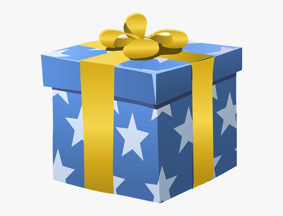 Gift Box Clip Art, Transparent Clipart