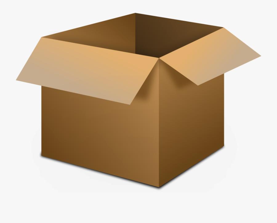Cardboard Box Png - Transparent Box Clipart, Transparent Clipart