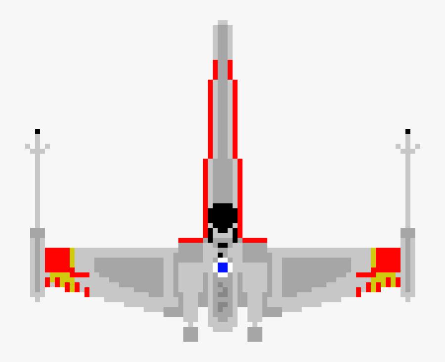 X Wing Png - X Wing Pixel Art, Transparent Clipart