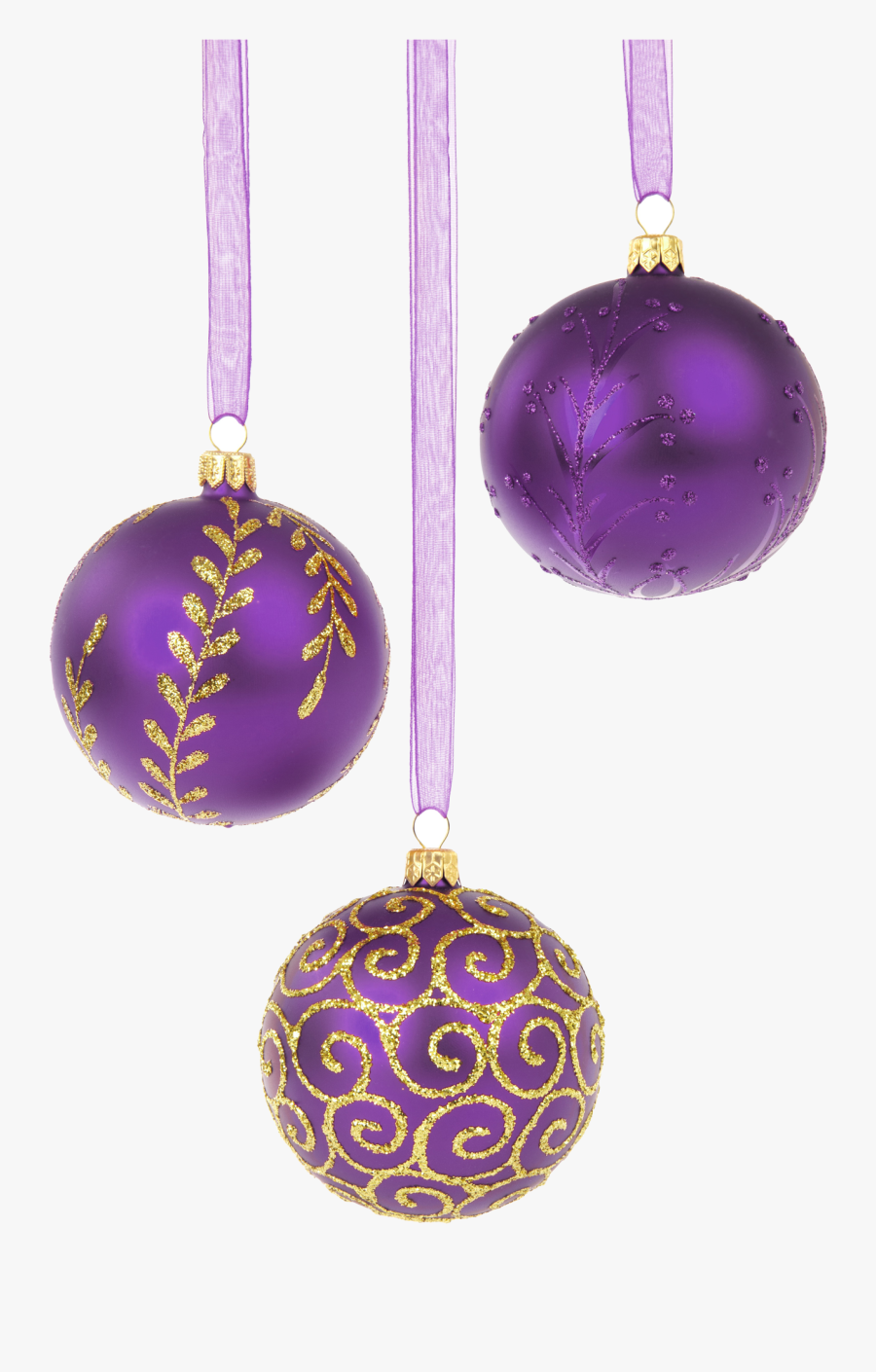 Christmas Decorations With White Background, Transparent Clipart