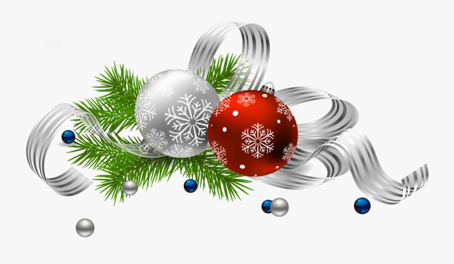 Christmas Decoration Free Png Transparent Background - Transparent Background Christmas Decorations Png, Transparent Clipart