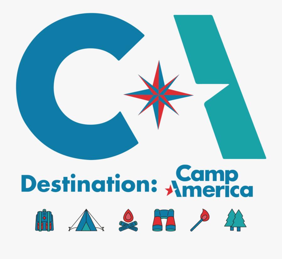 Logoboard - Camp America, Transparent Clipart