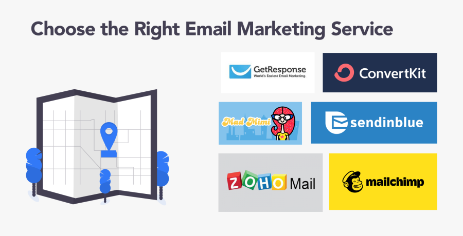 Choosing The Right Email Service Providers - Graphic Design, Transparent Clipart