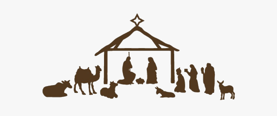 Nativity Png File - Christmas Nativity Scene Png, Transparent Clipart