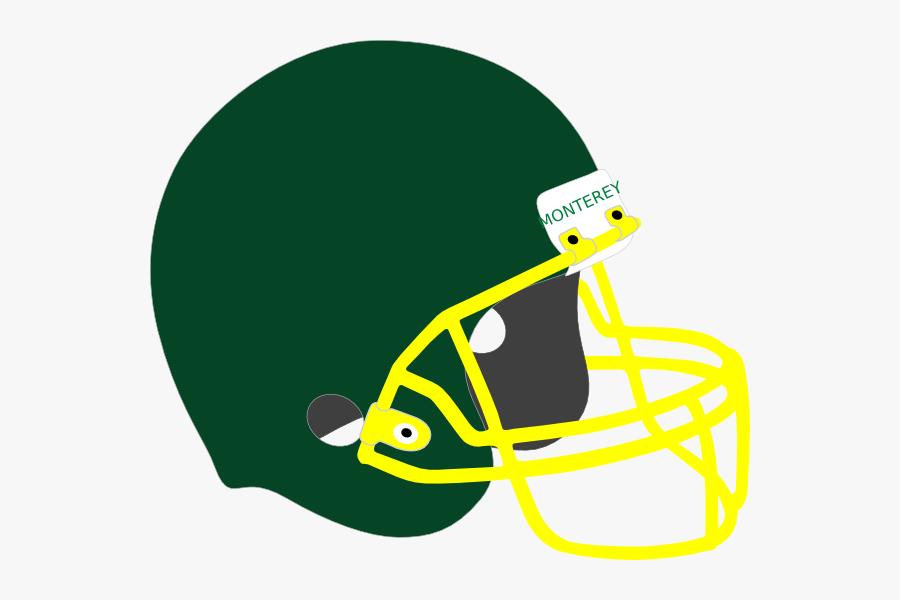 Transparent Nfl Football Helmets Clipart - Clip Art Football Helmets, Transparent Clipart