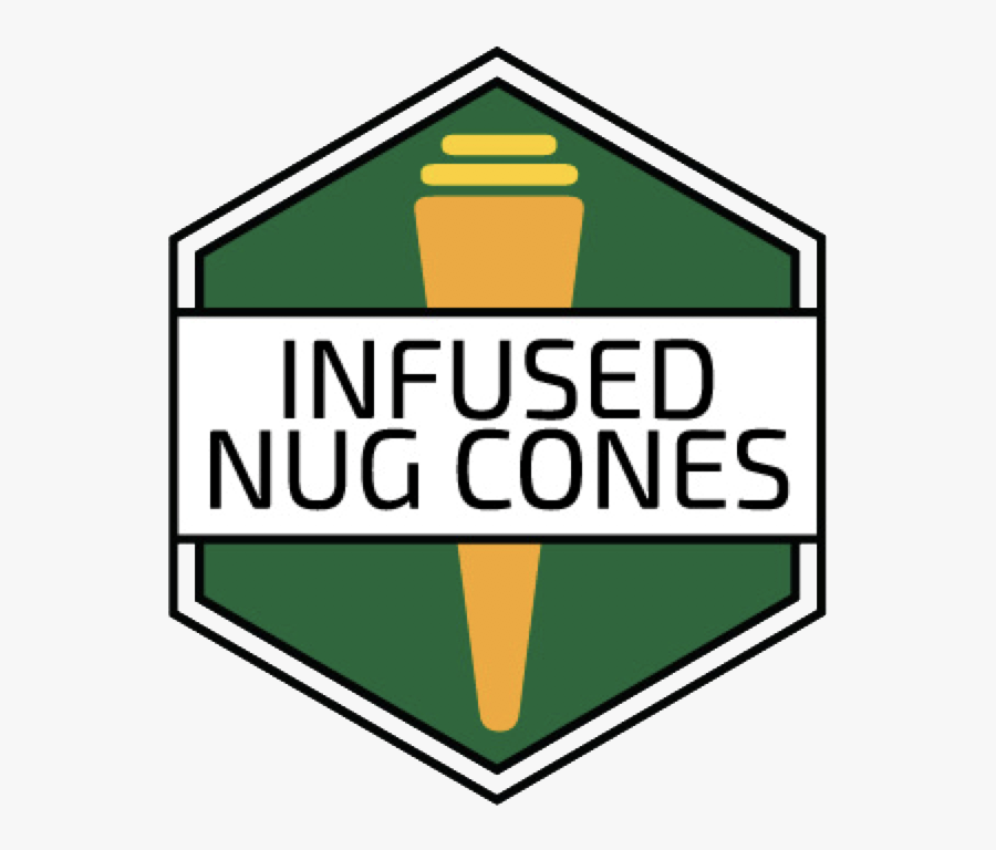 Infused Nug Cone Hex - Old Film Template Png, Transparent Clipart