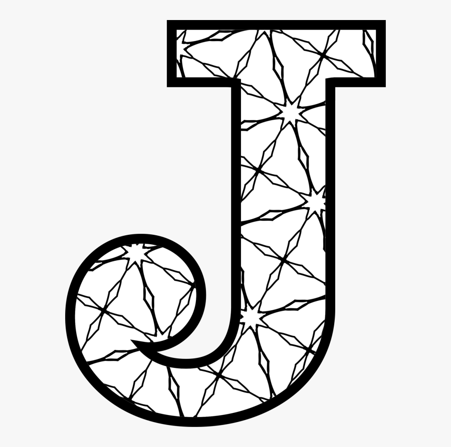 Here S A Set Of Printable Alphabet Letters To Download - Letter J To Colour, Transparent Clipart