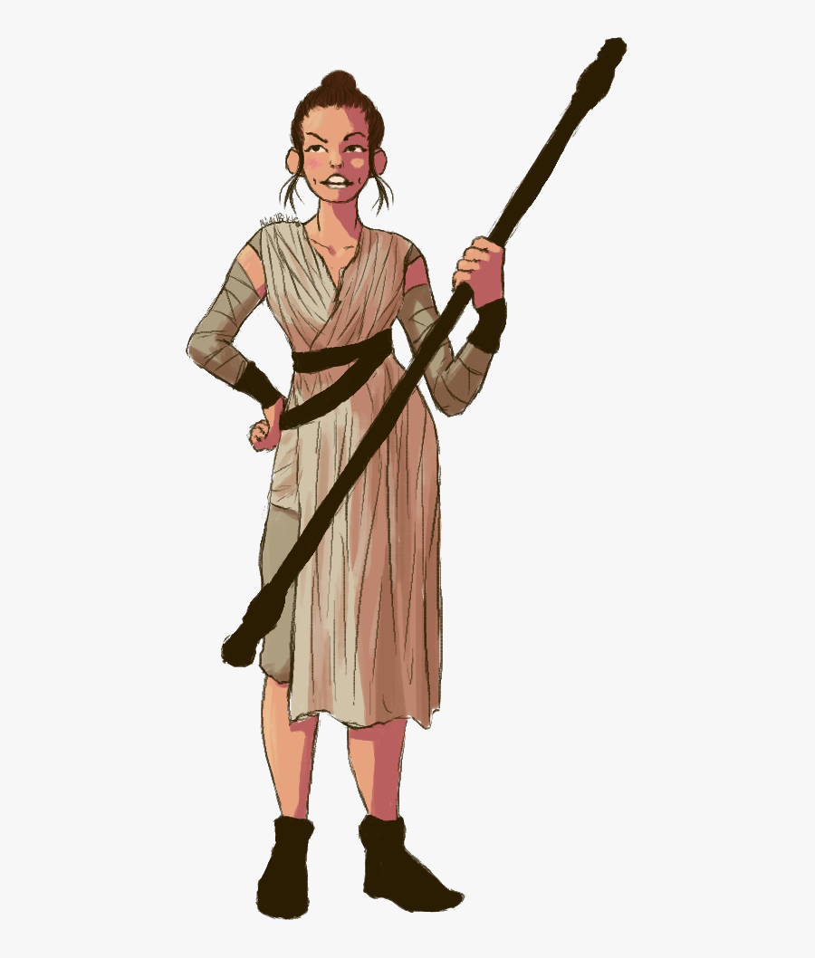 Collection Of Rey Star Wars Clipart High Quality, Free - Rey Star Wars Clip Art, Transparent Clipart