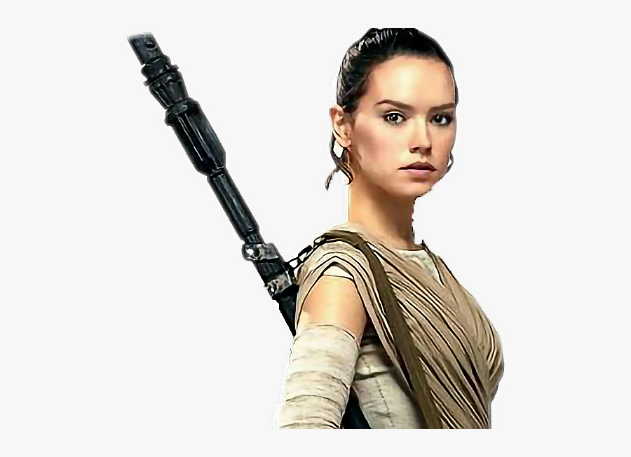 Transparent Rey Star Wars Clipart - Rey From Star Wars, Transparent Clipart