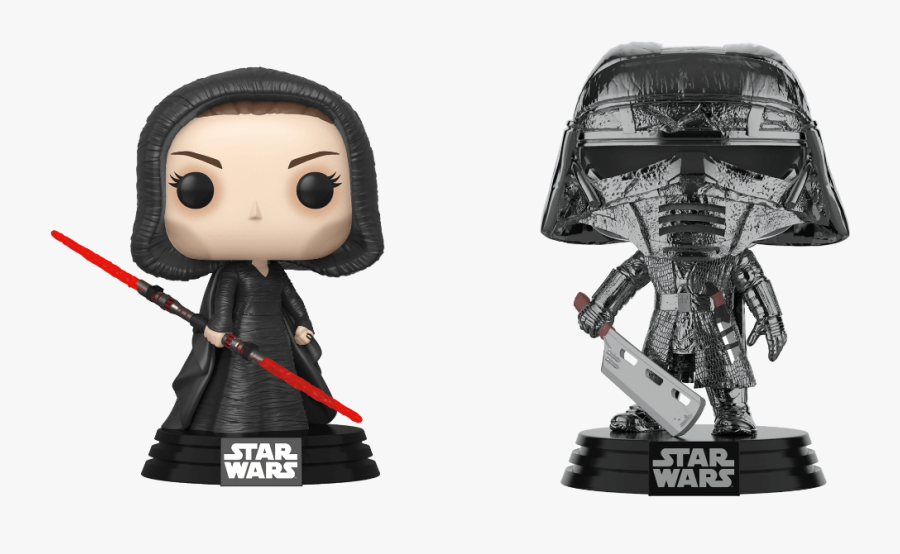 Star Wars The Rise Of Skywalker Funko Pops, Transparent Clipart