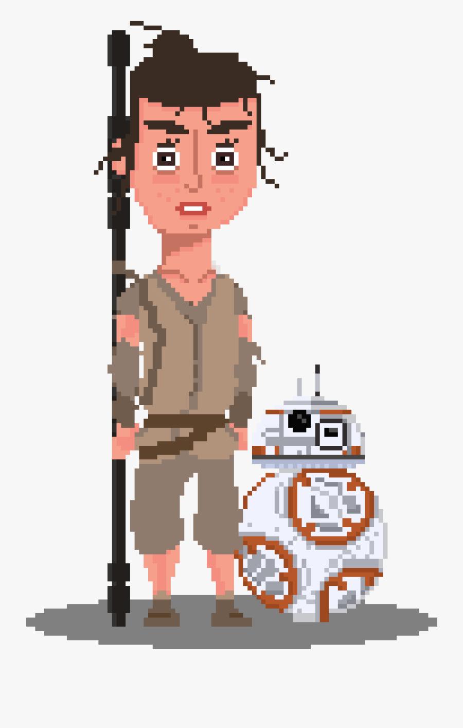 Transparent Rey Star Wars Clipart - Cartoon, Transparent Clipart