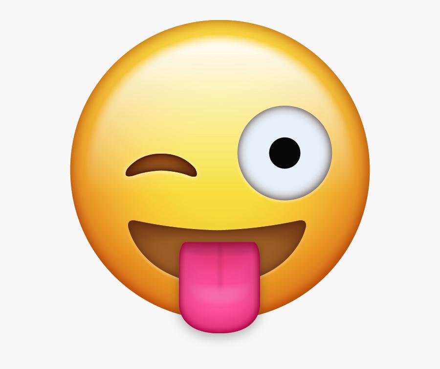 Tongue Out Emoji Clipart, Transparent Clipart