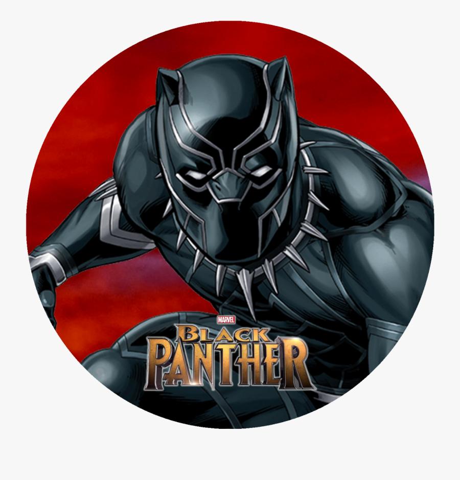 24 Marvel Black Panther Movie Stickers Round Labels - Marvel Black Panther Vector, Transparent Clipart