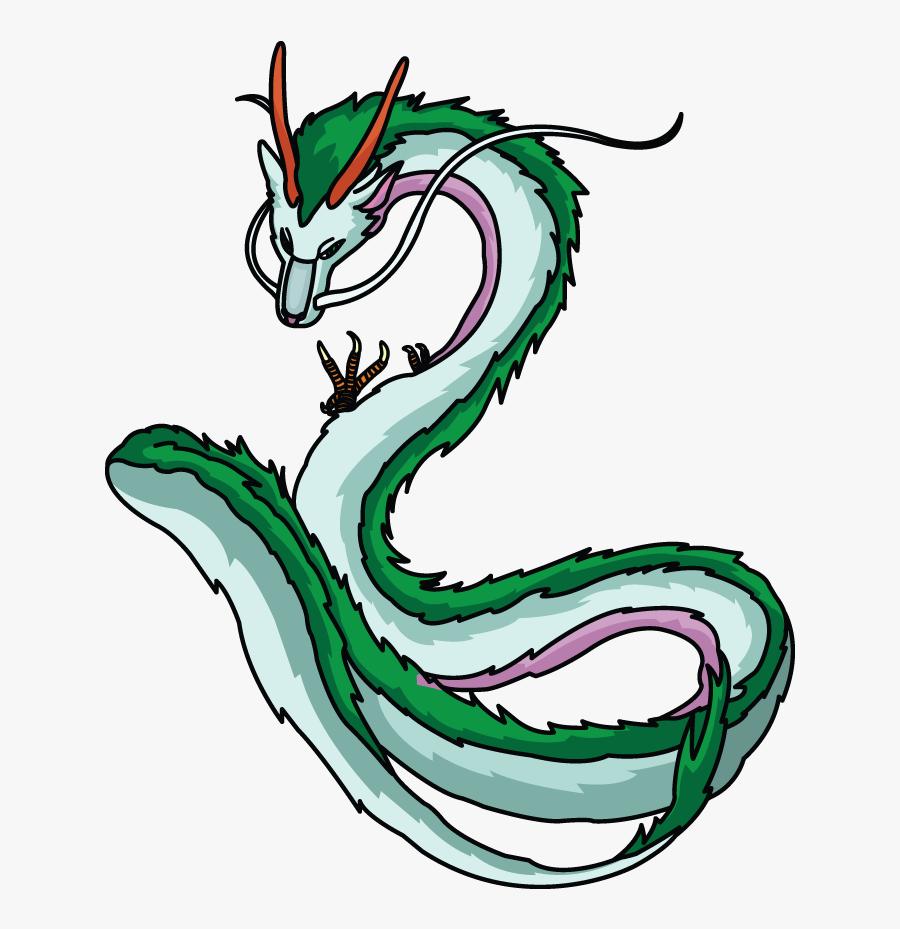 Transparent Haku Png Dragon Anime Dragon Spirited Away Free Transparent Clipart Clipartkey