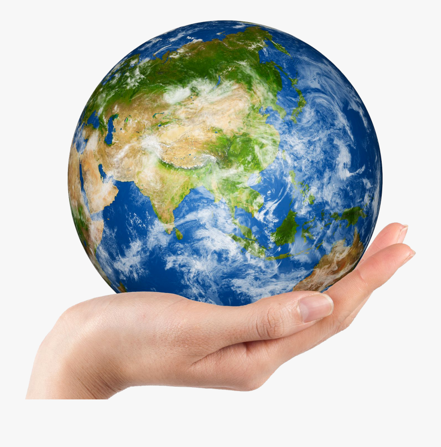 Earth Globe Clip Art - Save The Earth Png, Transparent Clipart