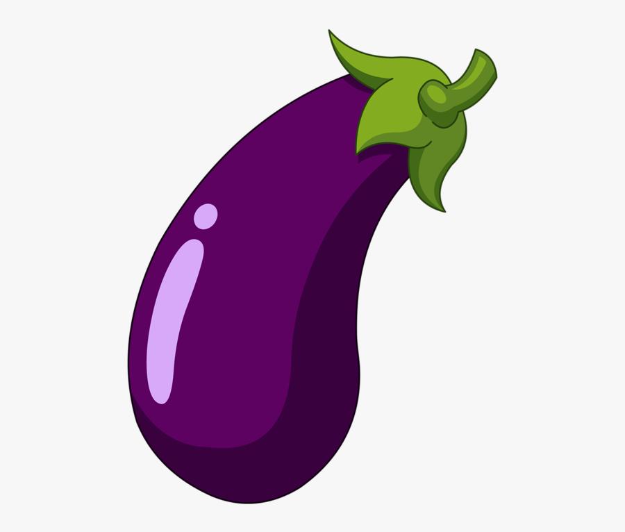 Eggplant Cartoon Royalty-free Clip Art - Cartoon Transparent Background Eggplant, Transparent Clipart