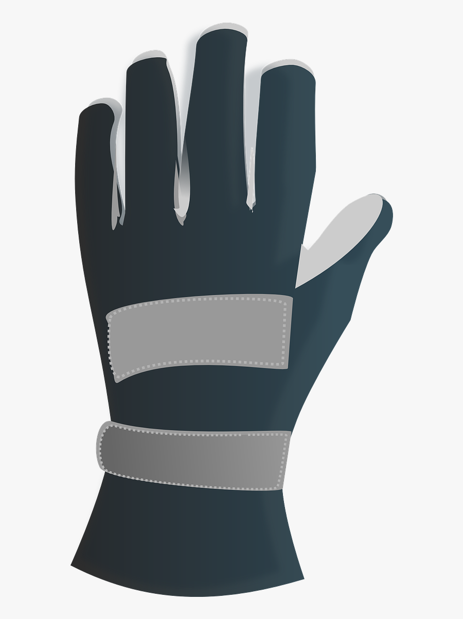 Safety Gloves Cartoon Png Clipart , Png Download - Gloves Png Clipart, Transparent Clipart