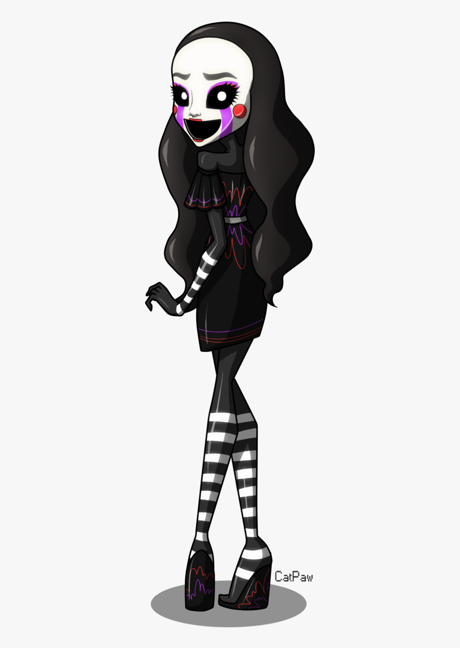 Puppeteer Drawing Creepy Marionette Doll, Picture - Puppet Fnaf Monster High, Transparent Clipart