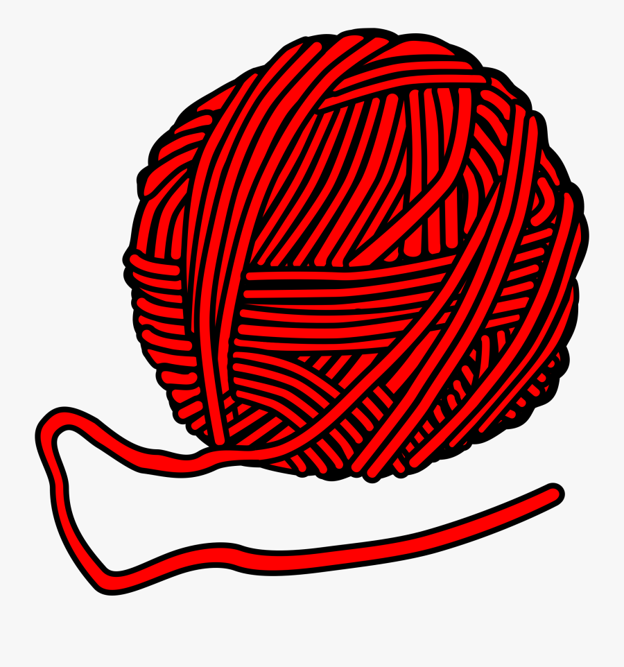 Transparent Yarn Clipart - Yarn Clipart Black And White ...